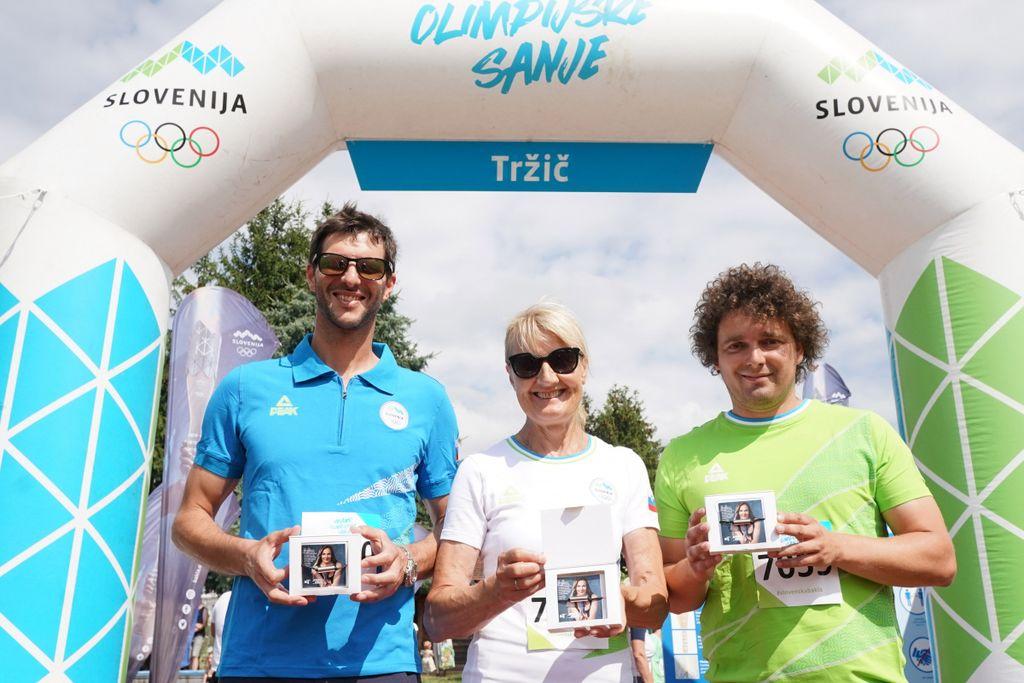 Olimpijci Andrej Jerman, Milena Kordež, Mitja Oranič (foto_Aleš Fevžer)