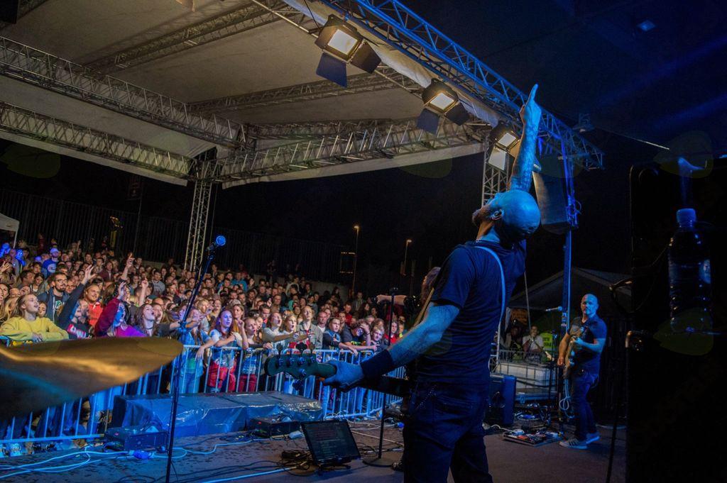 Koncerti na Gorenjski plaži so bili odlično obiskani (foto Tomaž Strmčnik).
