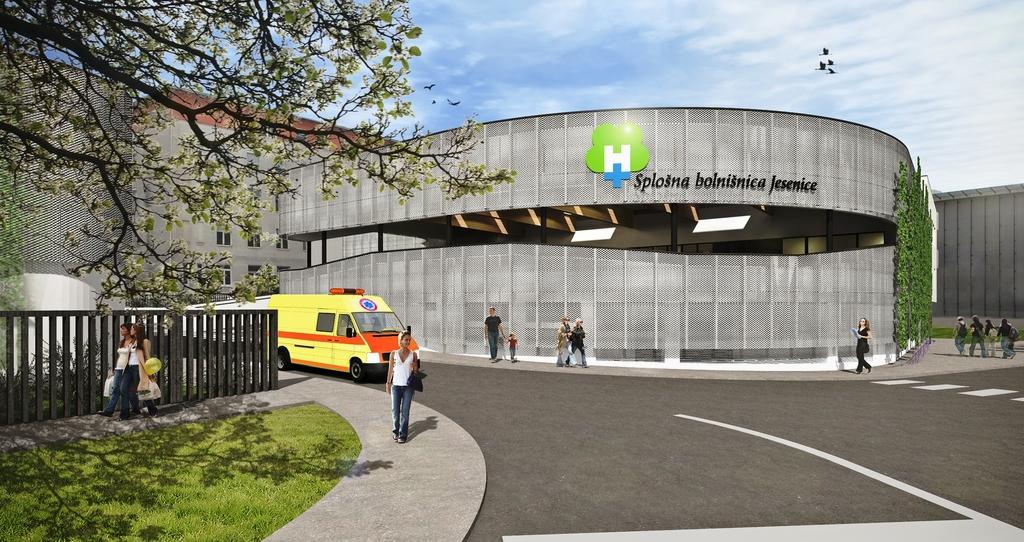 Omejitev obiskov v jeseniški bolnišnici