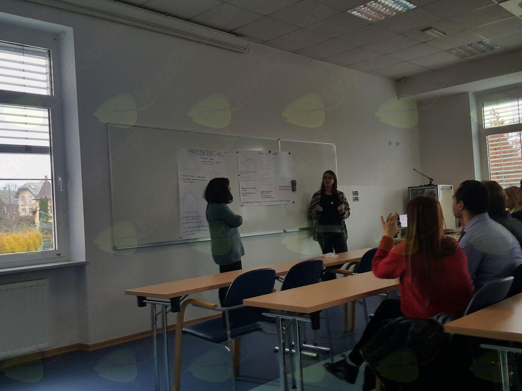 Erasmusovi študentje na obisku na Bledu
