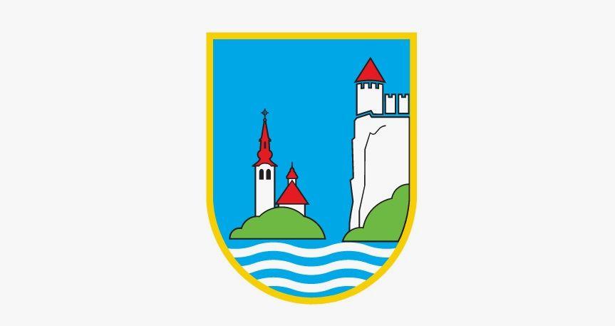 Zapora jezera v času izvedbe Svetovnega pokala v zimskem plavanju Bled 2019