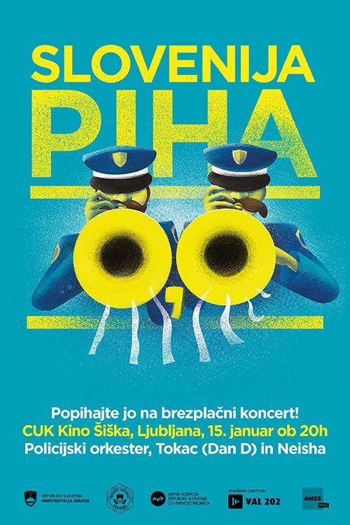 S pihanjem 0,0 do vstopnic za koncert Policijskega orkestra