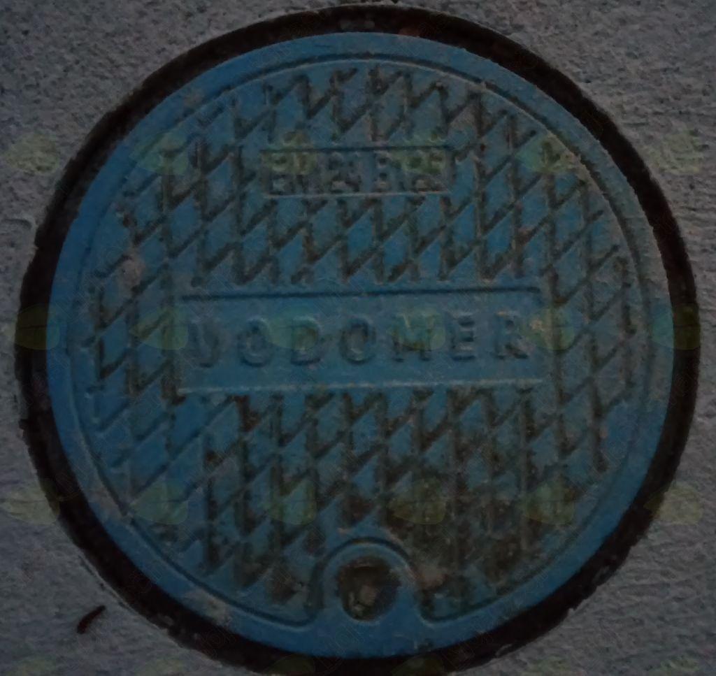 Občasno zmanjšan pretok vode