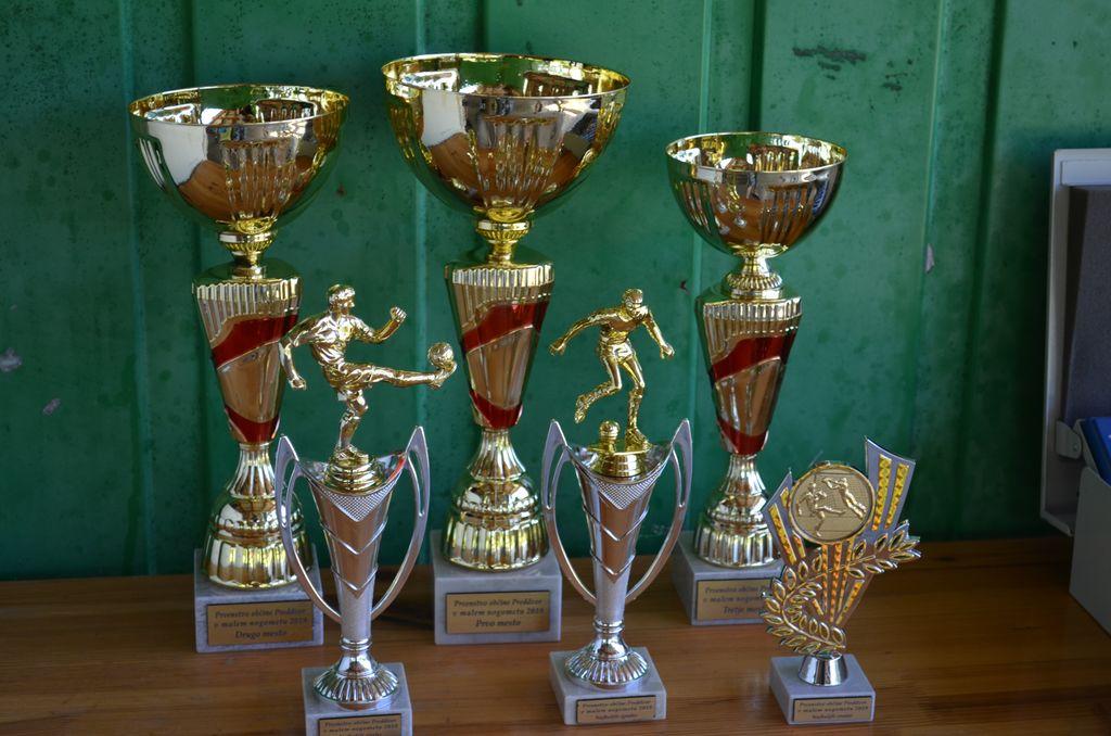 Pokali in priznanja