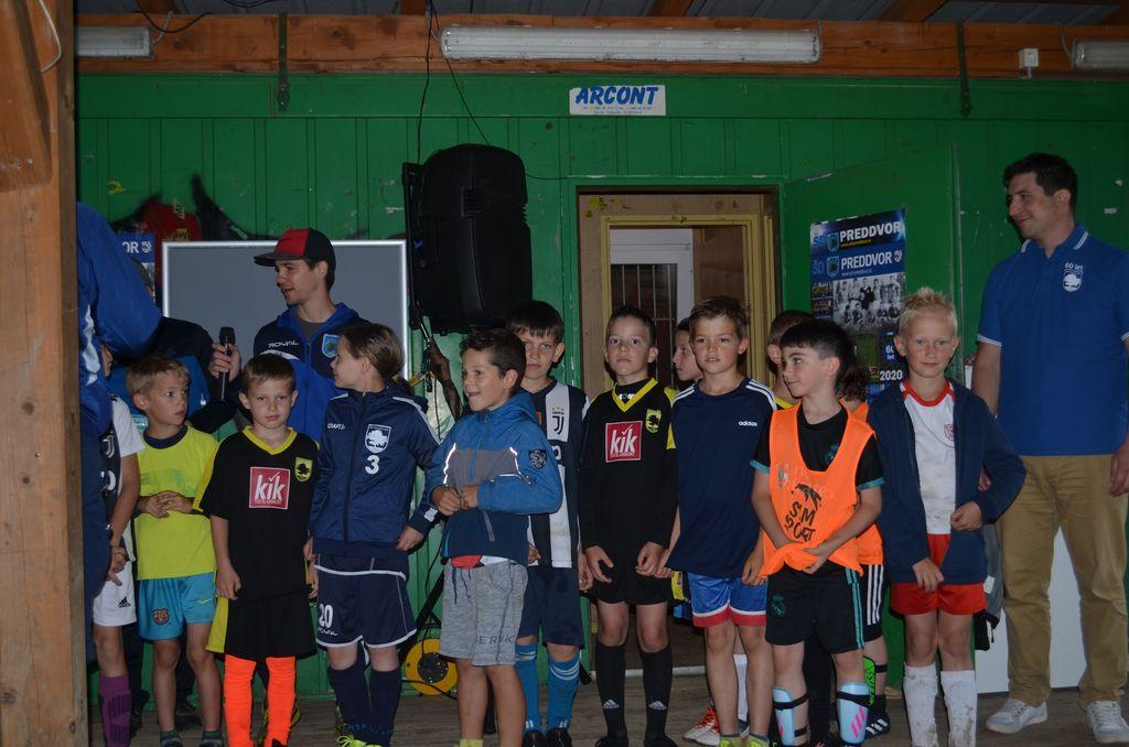 U9 in trener Luka Potkonjak