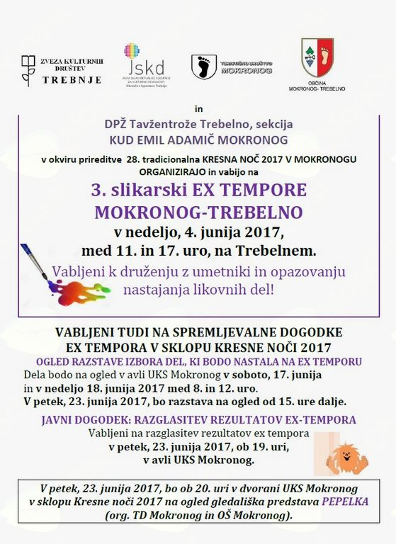3. slikarski EX TEMPORE MOKRONOG-TREBELNO