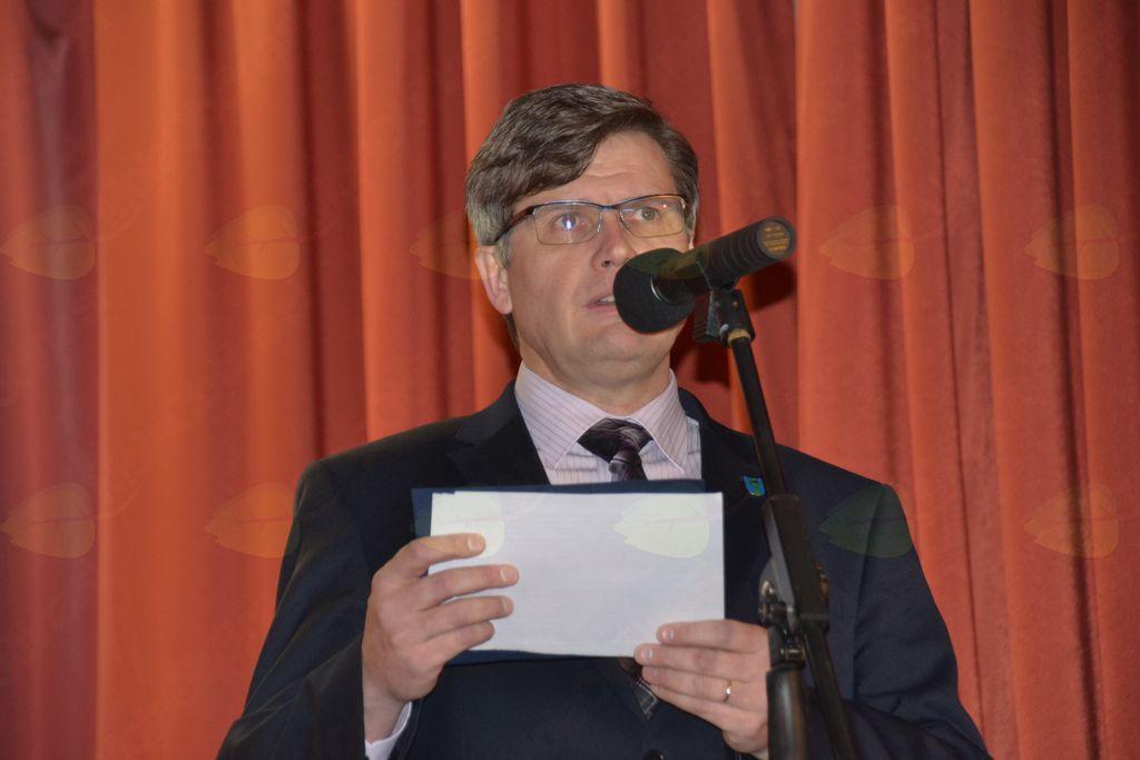 Slavnostni govornik dr. Jože Korbar