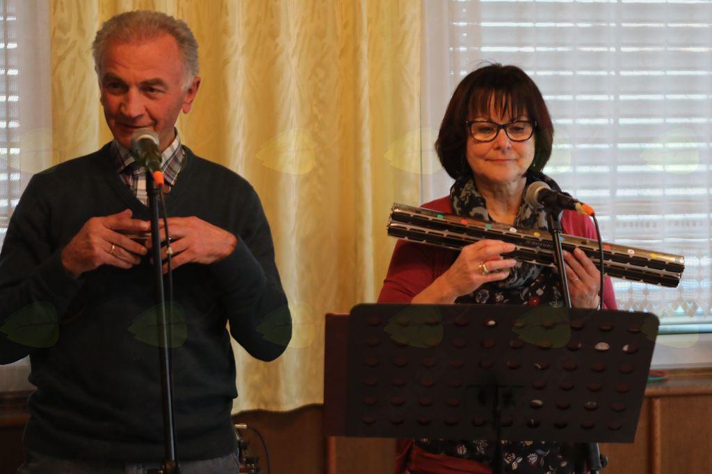 Duo Franz in Angelika Halper