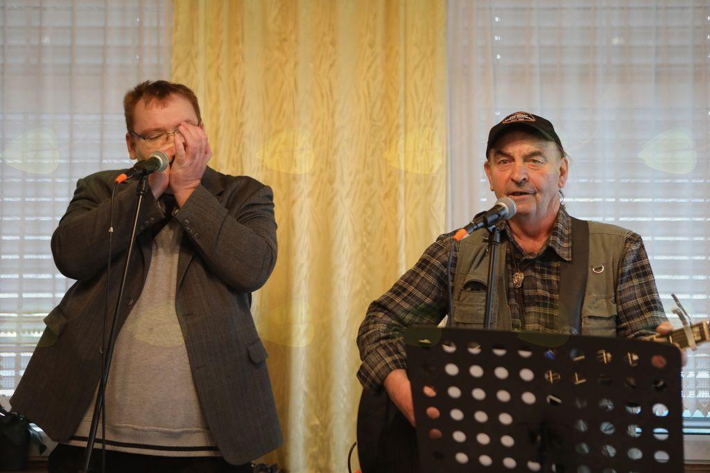 Robert Ivačič in Boris Muževič