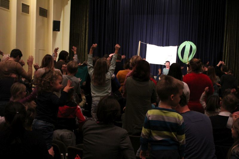 Tinko Polovinko navdušil mlade obiskovalce
