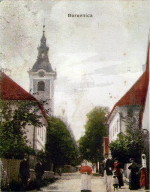 Paplerjeva ulica v začetku 18. stoletja
