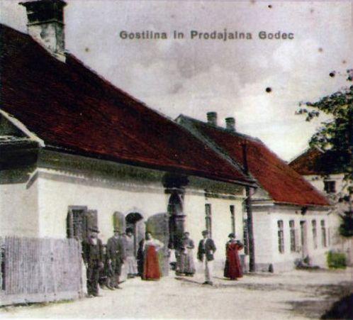 Gostilna Godec v začetku 18. stoletja