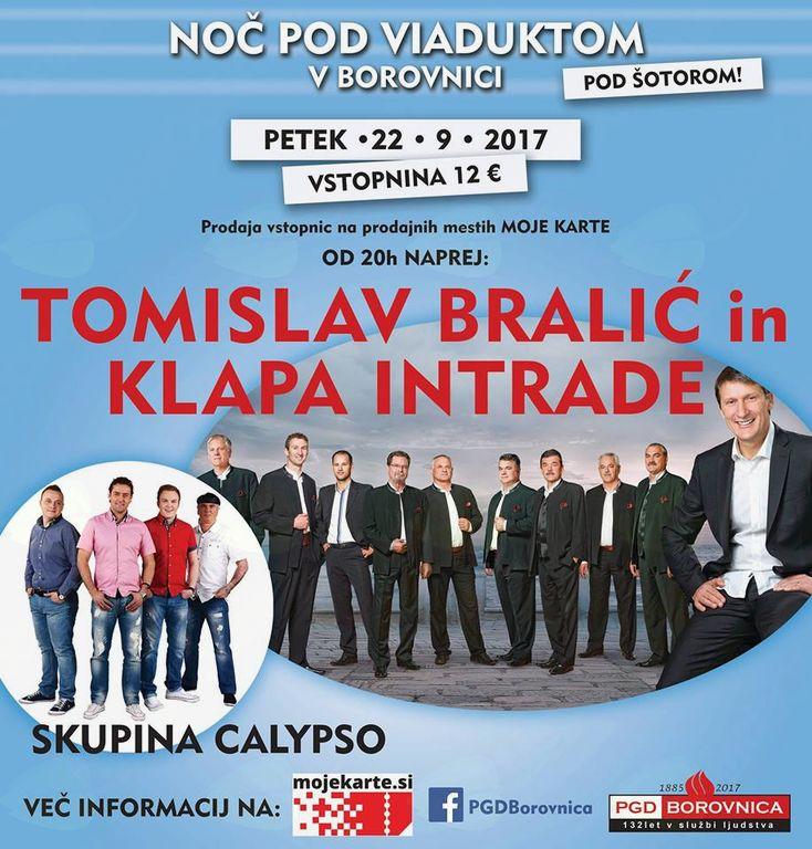 Tomislav Bralić in Klapa Intrade - Noč Pod Viaduktom 2017