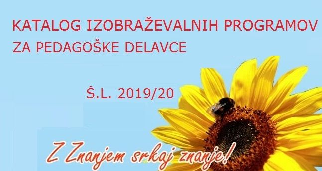 Bodite z nami tudi v 2019/20