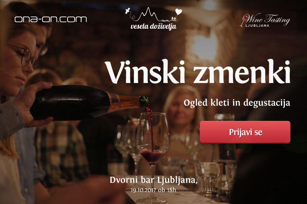 Vinski zmenki - Ogled kleti in degustacija