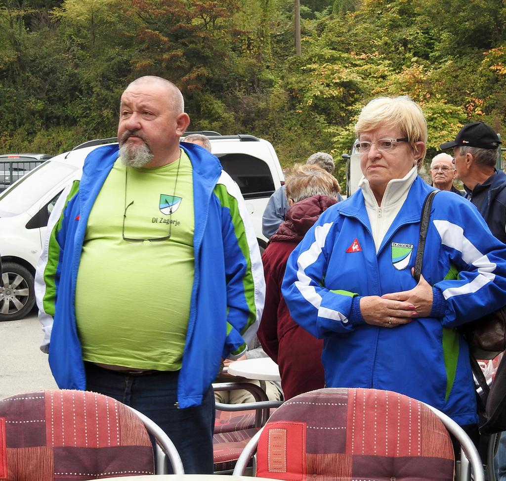 Miran Gorišek in Zvonka Cesar