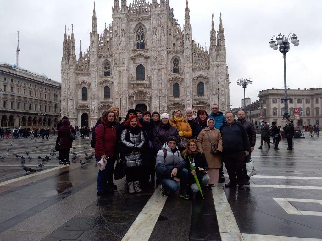 Predstavniki šestih držav- Milano 2019