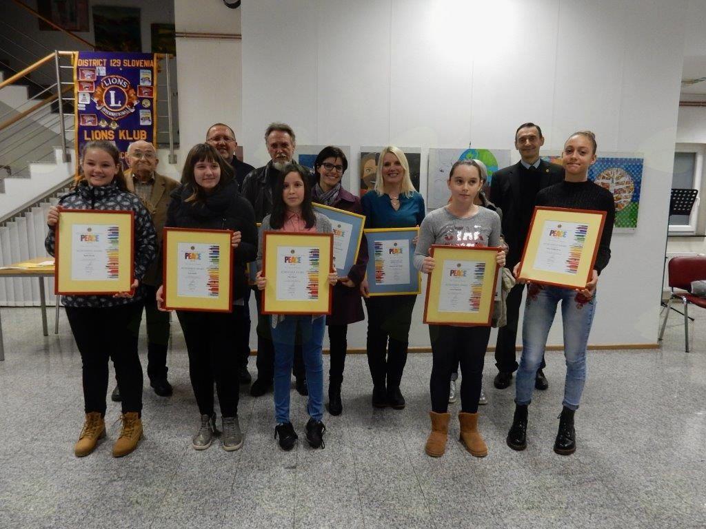 Lions klub Konjice Konjice-Utrinek s Plakata miru 2017