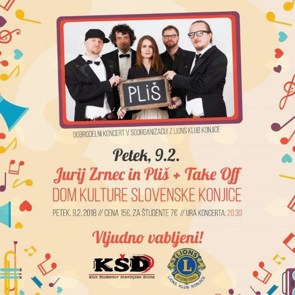 Lions klub Konjice - Dobrodelni koncert 2018