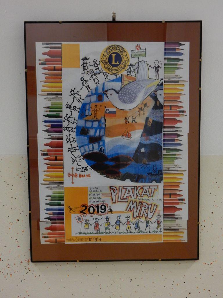 Plakat miru 2019-2020: razstava in prireditev s podelitvijo priznanj