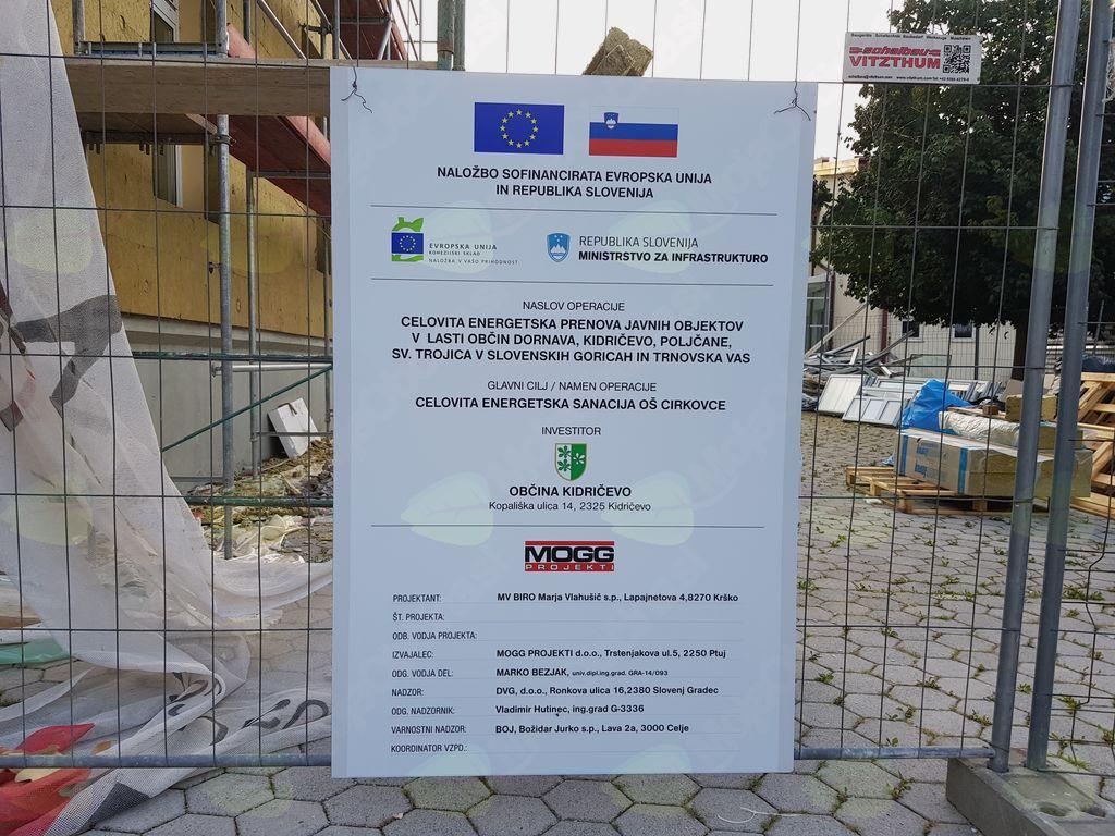 Celovita energetska prenova javnih objektov v lasti občin Dornava, Kidričevo, Poljčane, Sveta Trojica v Slovenskih goricah in Trnovska vas