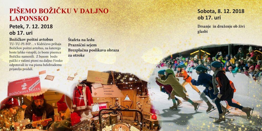 Pišemo Božičku v daljno Laponsko