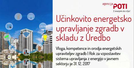 Še letos obvezna vzpostavitev sistema upravljanja z energijo v vseh javnih zgradbah!
