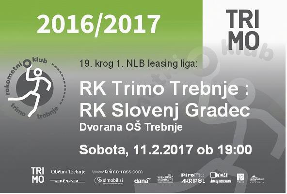 RK Trimo Trebnje: RK Slovenj Gradec