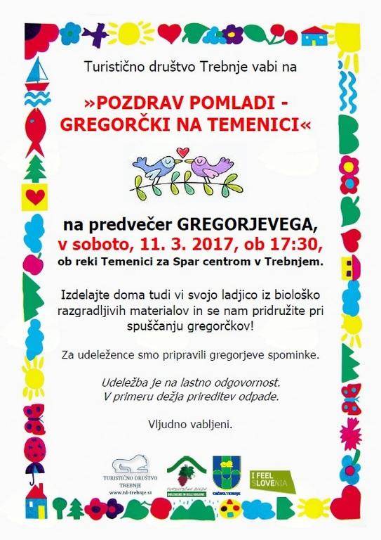 """""""POZDRAV POMLADI - GREGORČKI NA TEMENICI"""""""