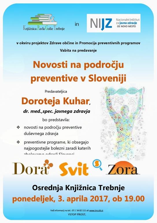 Novosti na področju preventive v Sloveniji