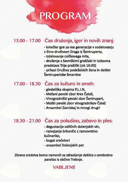 Dobrodelni festival 'Cviček v srcu'