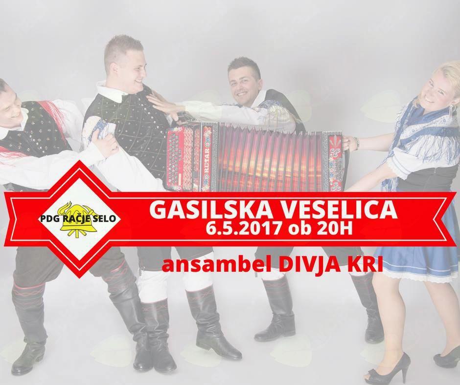 Gasilska veselica - ansambel Divja kri