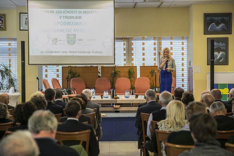 Formula za uspeh: ideja, delavnost, poštenost, odnos do soljudi in vztrajnost (iz 26. Foruma odličnosti in mojstrstva)