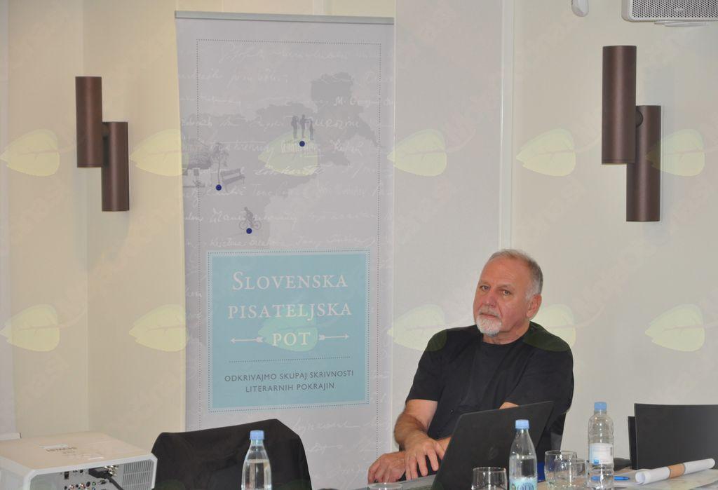 Igor Likar, nosilec projekta Slovenska pisateljska pot.