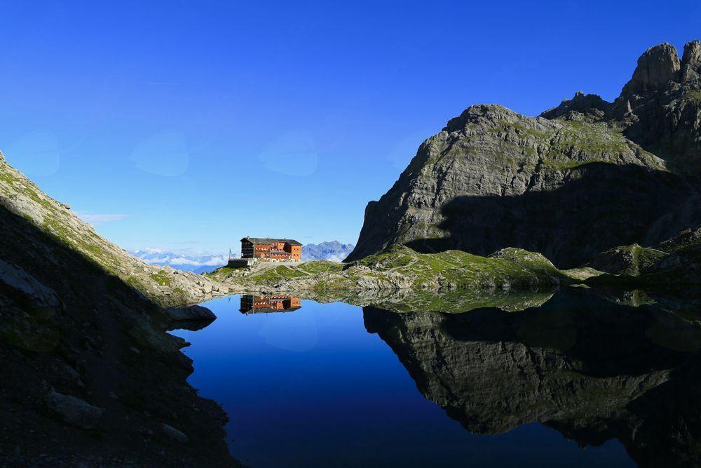 Planinski izlet na Karlsbader Hütte, Lienški Dolomiti (2261 m)