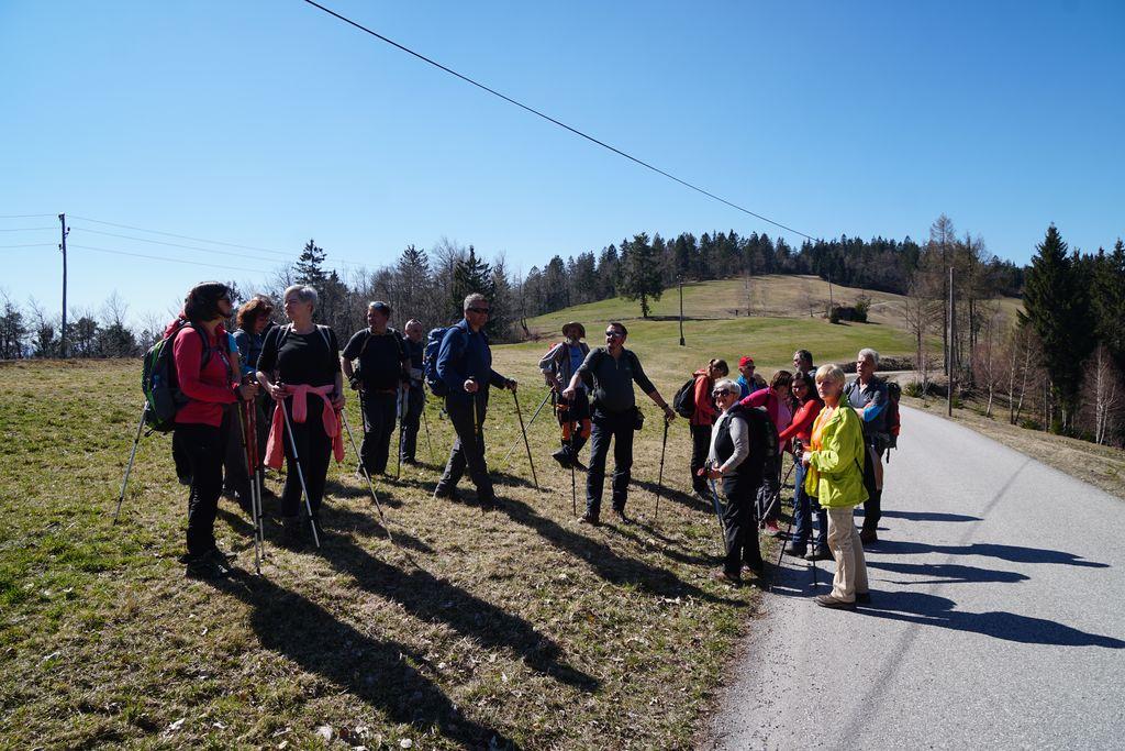 Planinski izlet na Rupnikovo linijo, 31.3.2019