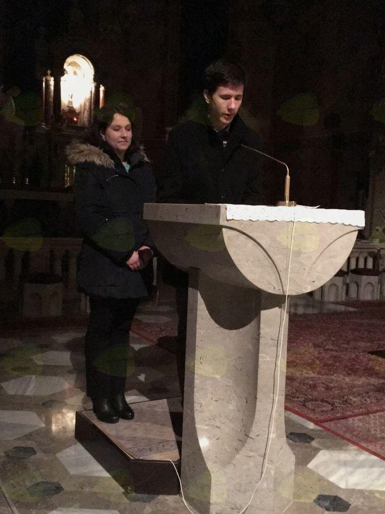 Lucija Lenarčič in Erik Brezovšek