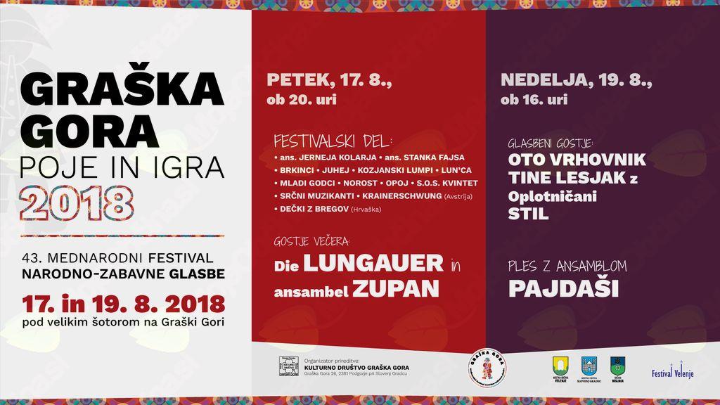Graška Gora poje in igra 2018