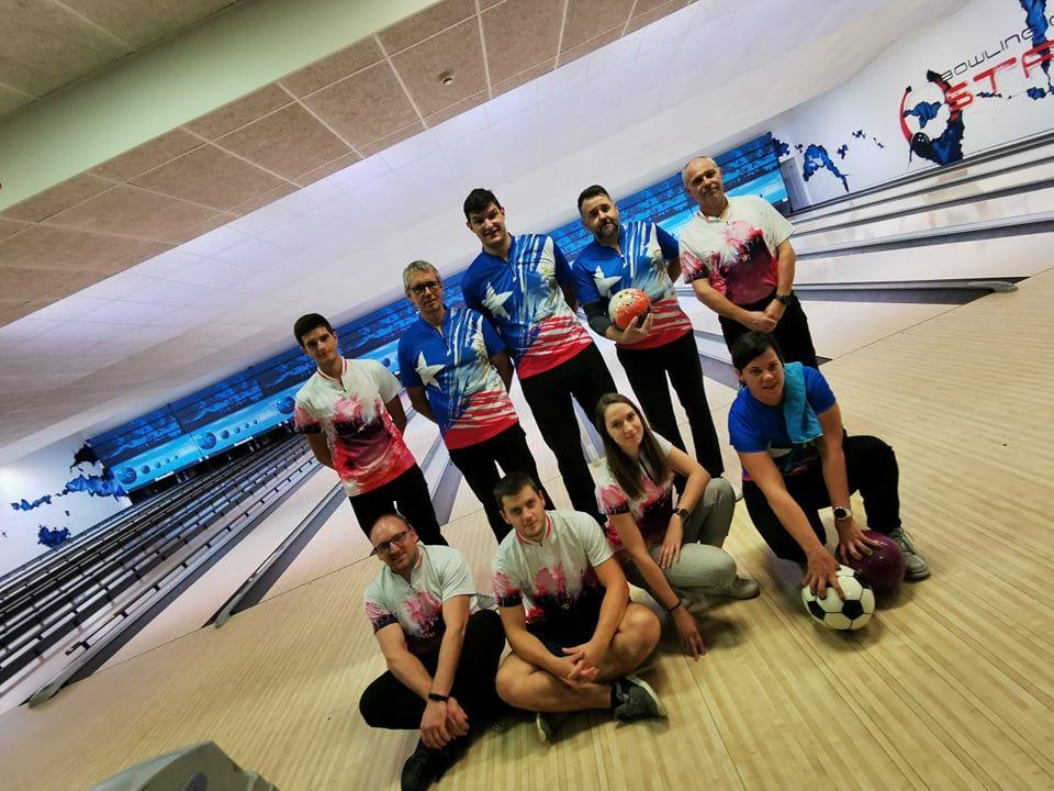 Zgodovinska tekma 1. Slovenske bowling lige