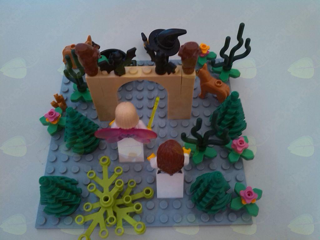 Lego delavnica v Knjižnici Dvor