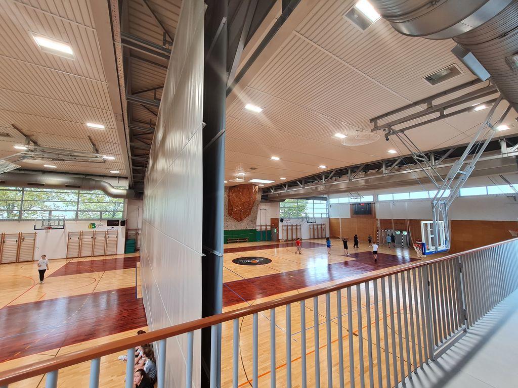 Prenovljena razsvetljava v Športni dvorani Vransko