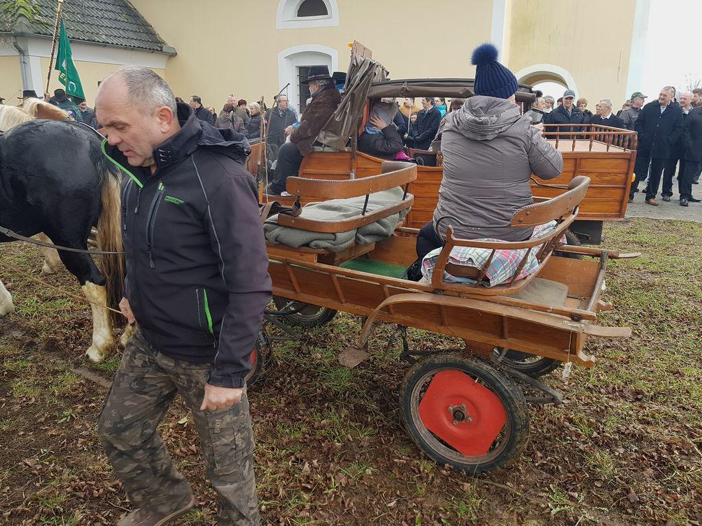 Žegnanje na Antonovo v Krasincu