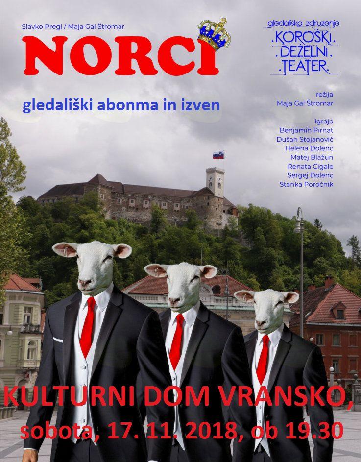 NORCI – gledališki abonma in izven