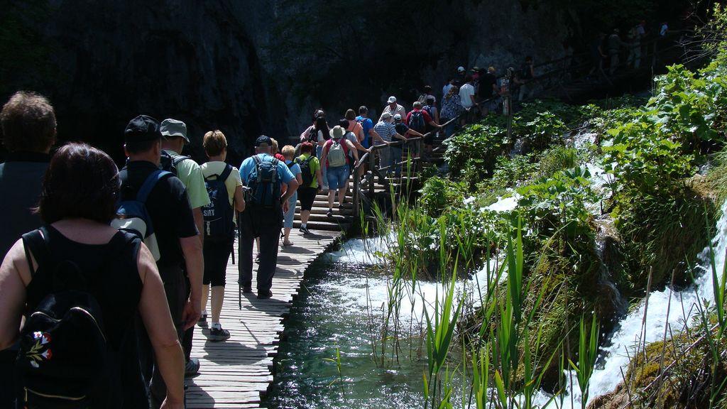 Obiskali Narodni park Plitvička jezera