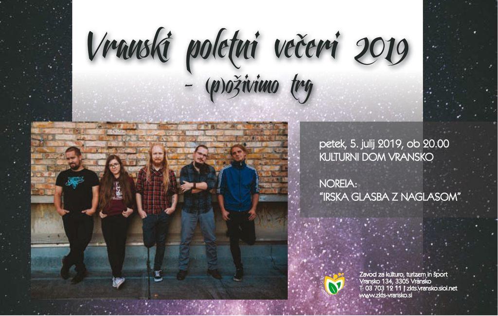 VRANSKI POLETNI VEČERI 2019 - (p)oživimo trg
