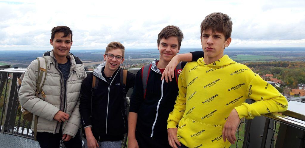 Udeleženci tekmovanja Mladina in gore v Lendavi