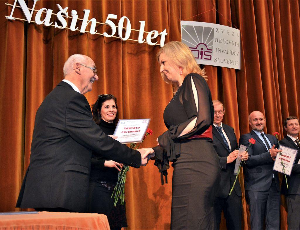 50 let Medobčinskega društva invalidov Žalec