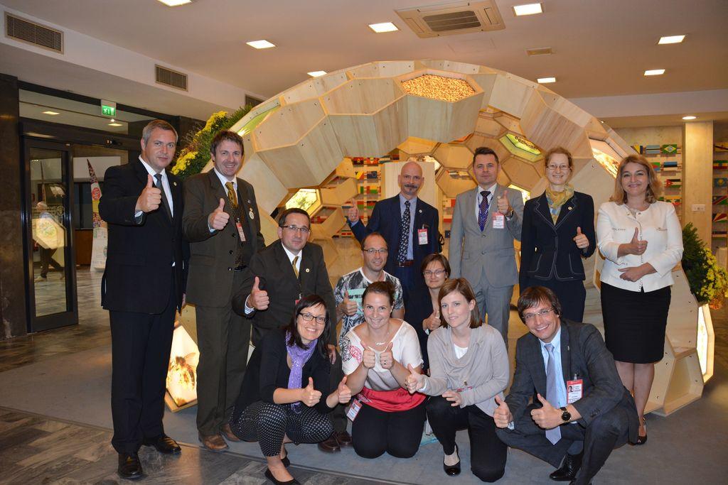 Po uspešni predstavitvi pobude na Odboru za kmetijstvo Organizacije združenih narodov za prehrano in kmetijstvo (FAO), Rim