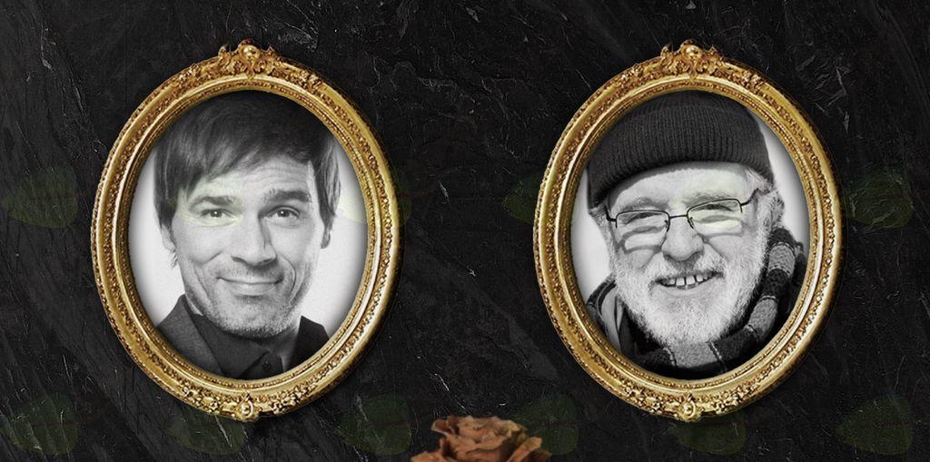 Lado Bizovičar in Janez Hočevar Rifle v komediji Čakalnica