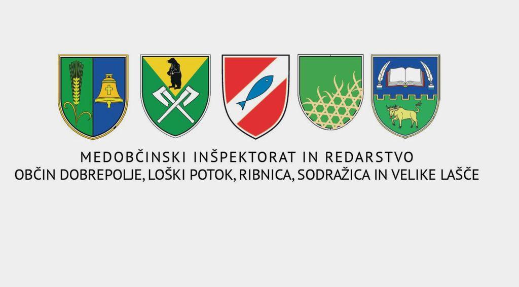 Obvestilo Medobčinskega inšpektorata in redarstva